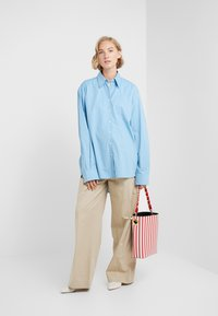 Rika - BLAZE  - Button-down blouse - ocean blue - 1