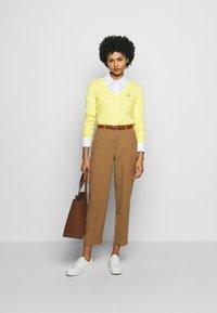 Polo Ralph Lauren - KIMBERLY - Svetr - lemon - 1