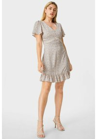 C&A - ARCHIVE - Day dress - coral - 1