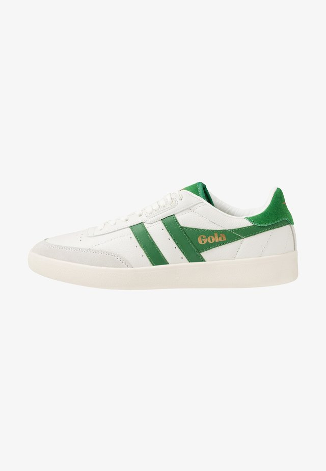 INCA - Baskets basses - offwhite/green