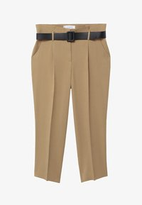 Violeta by Mango - FAST - Trousers - beige - 4