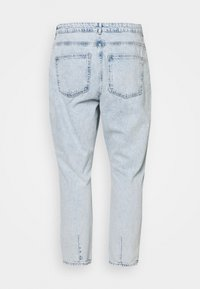 Noisy May Curve - NMISABEL MOM - Relaxed fit jeans - light blue denim - 1
