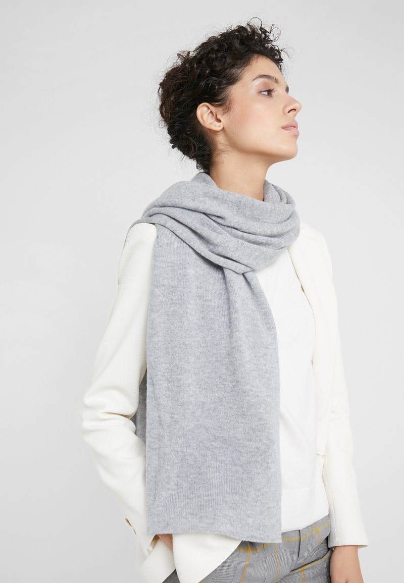Johnstons of Elgin - ESSENTIALS COLLECTION GAUZY STOLE - Scarf - silber