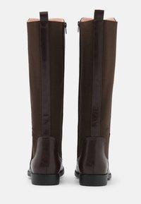 Anna Field Wide Fit - Klassiska stövlar - dark brown - 3