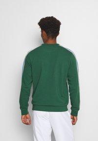 Lacoste Sport - RAINBOW TAPING - Sweatshirt - green/silver chine/utramarine/navy blue/white - 2