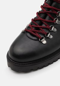 Walk London - SEAN LOW HIKER - Lace-up ankle boots - thunder black - 5