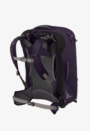 Wheeled suitcase - amulet purple