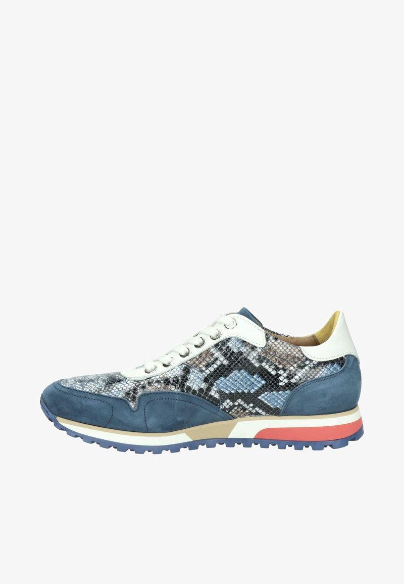 Lorenzi - Sneakers laag - blauw