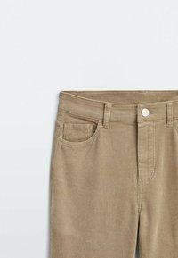 Massimo Dutti - Straight leg jeans - ochre - 2