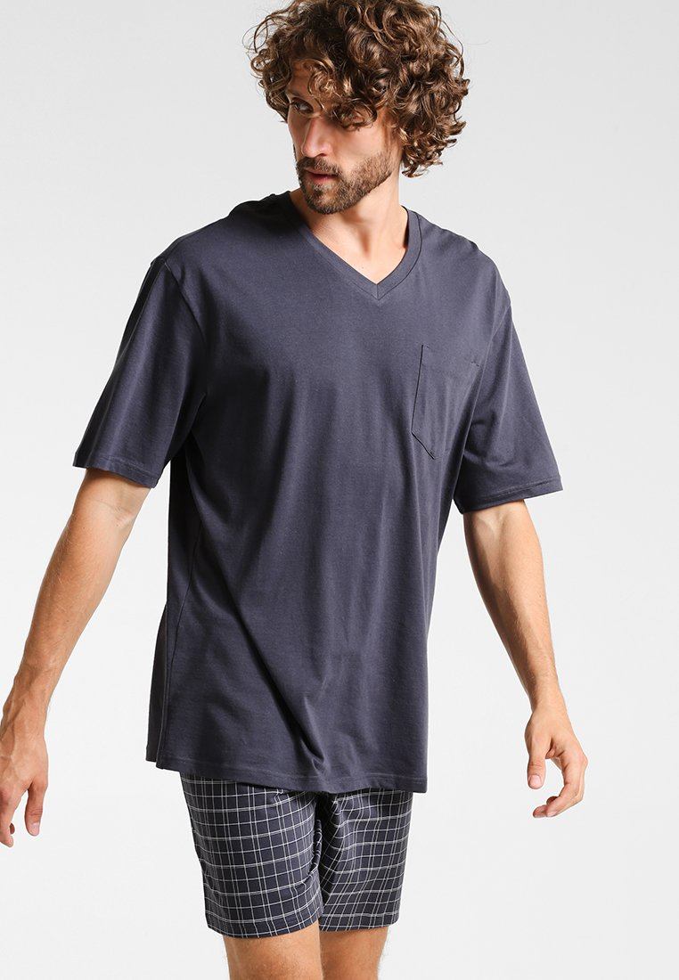 Schiesser - SET - Pyjama - anthrazit
