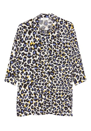 LONGLINE - Button-down blouse - multi-coloured