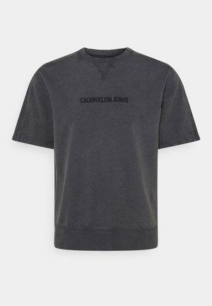 INSTIT EMBROIDERY CREWNECK - Print T-shirt - grey