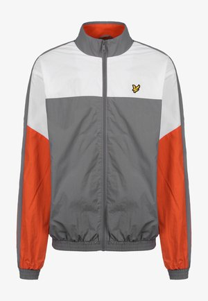 MULTI PANEL ZIP THROUGH TRACKTOP - Chaqueta de entrenamiento - mid grey marl
