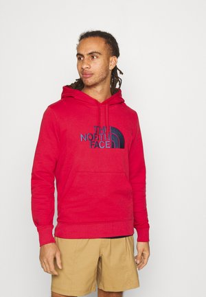 MENS LIGHT DREW PEAK HOODIE - Bluza z kapturem - rococco red