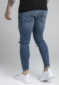 SIKSILK - DISTRESSED PATCH - Jeans Skinny Fit - midstone - 2