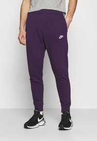 Nike Sportswear - CLUB - Tracksuit bottoms - grand purple/white - 0