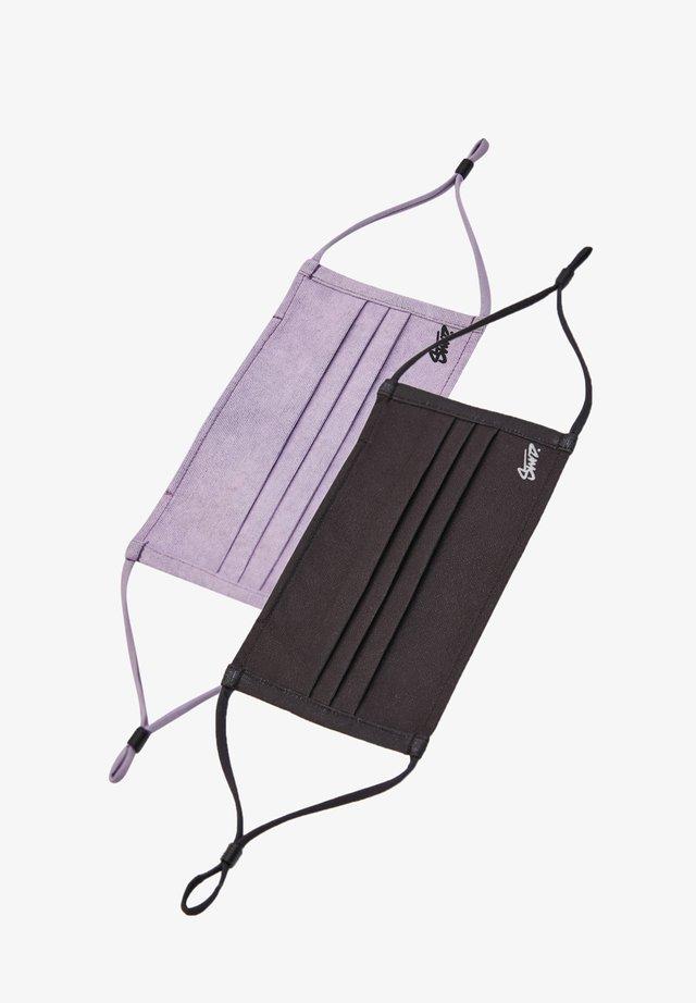 2 PACK - Stoffen mondkapje - purple