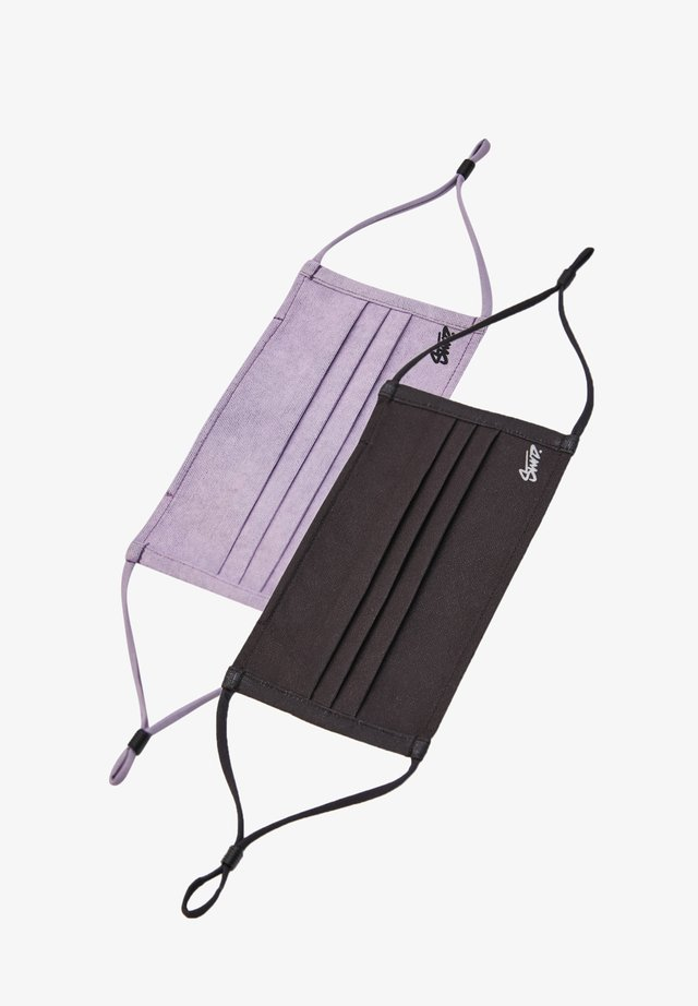 2 PACK - Kasvomaski - purple