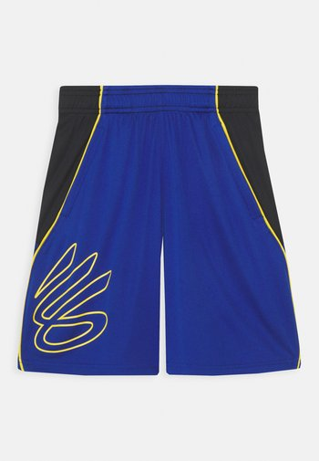 CURRY BOYS HOOPS SHORT - Sports shorts - royal/black/taxi
