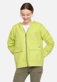 comma casual identity - Zip-up sweatshirt - lime - 3