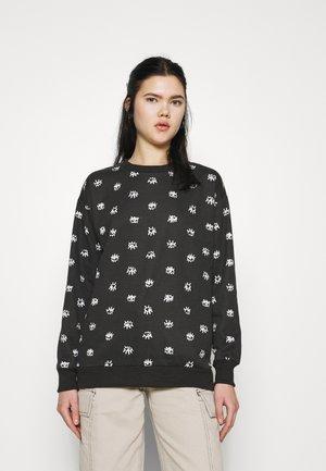 EYE PRINT - Sweatshirt - black