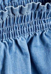 "Next - MID BLUE TENCELÂ""¢ SKORT (3-16YRS) - Denim shorts - blue - 2"