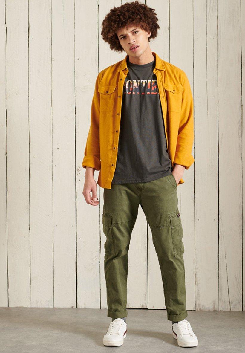 Men FRONTIER GRAPHIC - Print T-shirt