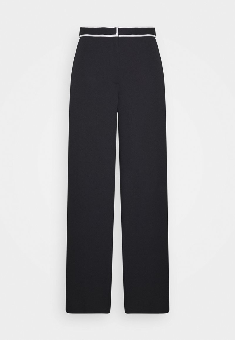 Proenza Schouler White Label - RUMPLED PANT - Kalhoty - black