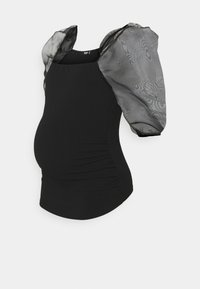 Missguided Maternity - Basic T-shirt - black - 0