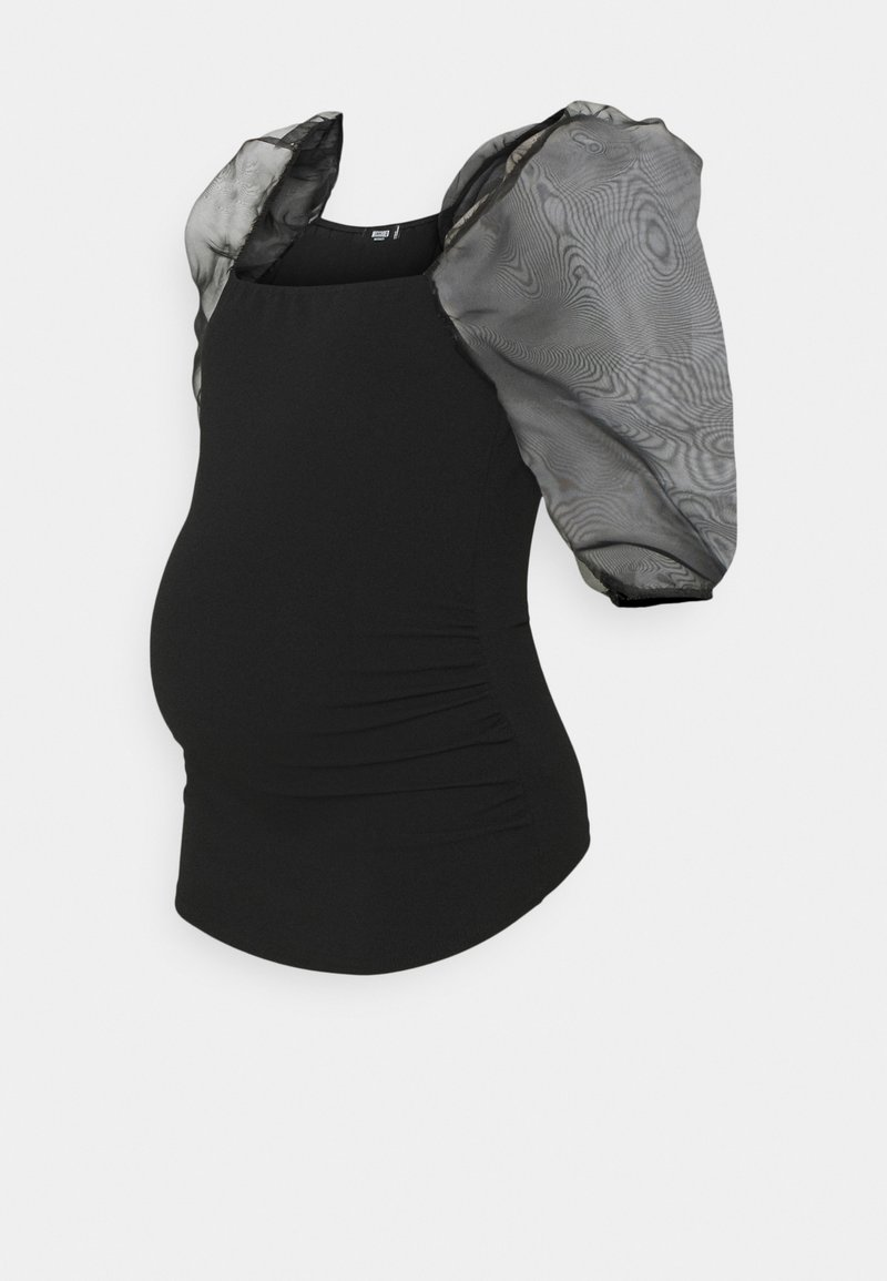 Missguided Maternity - Basic T-shirt - black