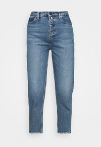 Calvin Klein - MOM - Relaxed fit jeans - mid blue - 4