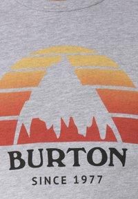 Burton - BURTON UNDERHILL - T-shirt print - grey - 2
