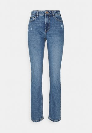 ONLEMILY LIFE - Džíny Straight Fit - medium blue denim