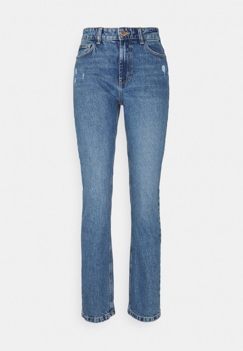 ONLY Tall - ONLEMILY LIFE - Straight leg jeans - medium blue denim