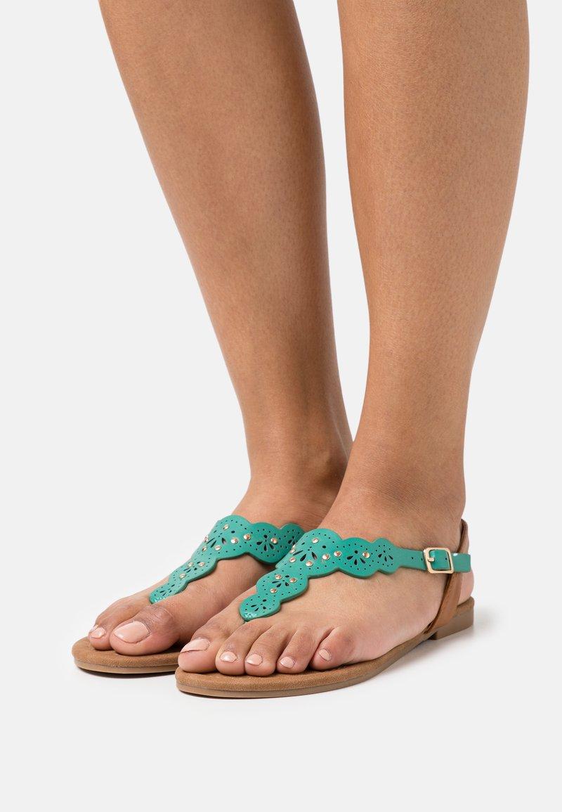 Anna Field - Flip Flops - turquoise