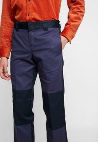 Dickies - EZEL - Spodnie materiałowe - navy blue - 3