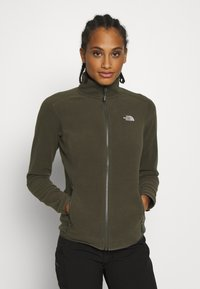 The North Face - WOMENS GLACIER FULL ZIP - Fleecejakke - new taupe green - 0