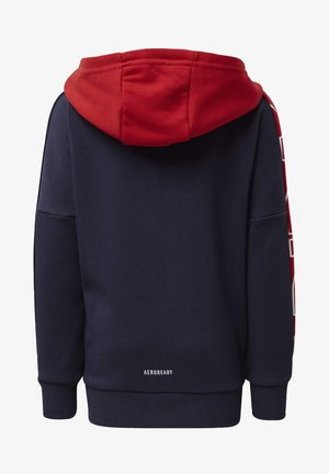 BRANDED KNIT JACKET - veste en sweat zippée - blue
