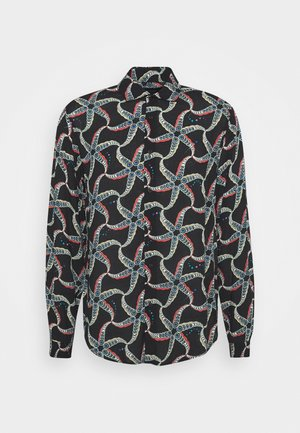 RELAXED FIT ALL OVER PRINTED - Shirt - black/multicolor