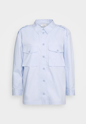 CANNAGZ  - Button-down blouse - dark xenon blue