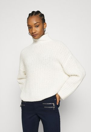 REEVES TURTLENECK  - Sweter - whisper white
