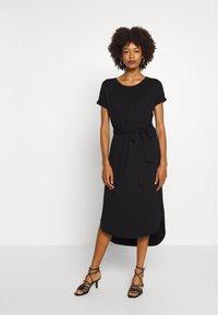 comma casual identity - Jersey dress - black - 0