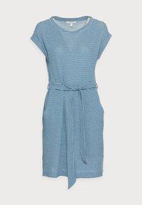 DRESS  - Jersey dress - bright blue