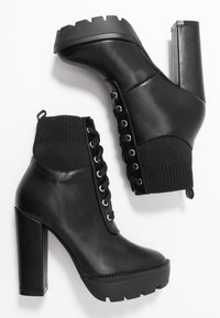 RAID - SKY - High heeled ankle boots - black - 3