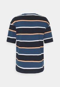 Jack & Jones - JORPALISADES STRIPE TEE CREW NECK - Print T-shirt - ensign blue - 1