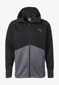 Puma - Training jacket - black-castlerock - 3