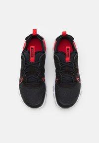 Nike Sportswear - REACT VISION UNISEX - Sneakers basse - black/university red/dark smoke grey/light smoke grey - 3