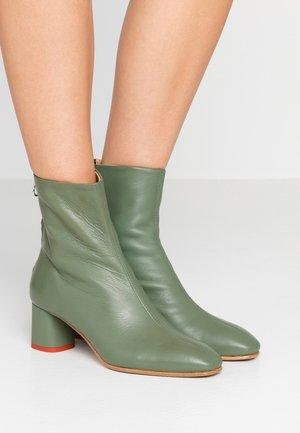 MEL - Classic ankle boots - sea foam