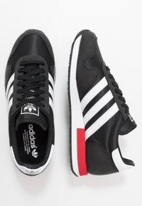 adidas Originals - USA 84 - Tenisky - core black/footwear white/scarlet - 1