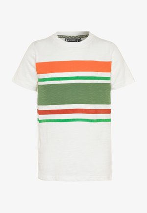 GARRICK - Print T-shirt - snow white